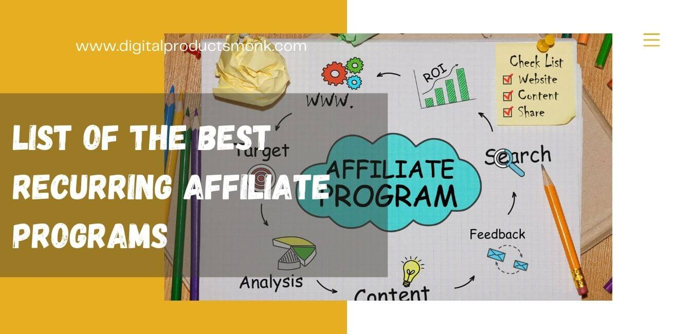 List of the Best Recurring Affiliate Programs