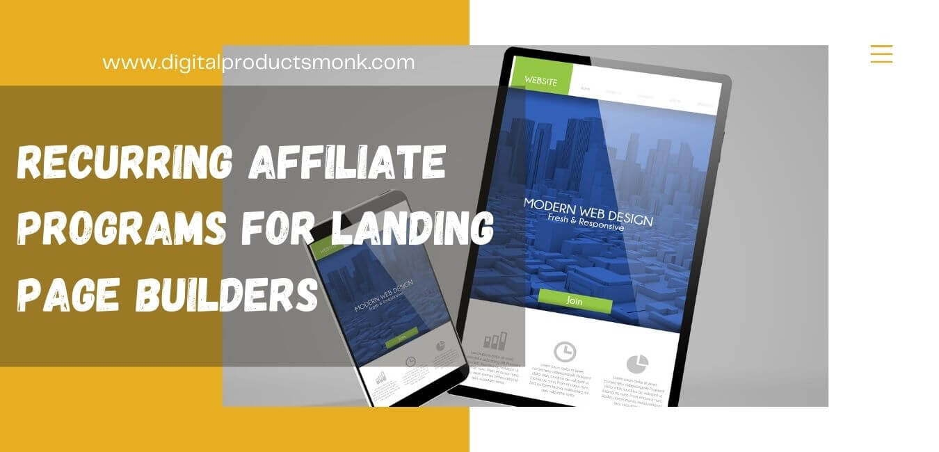 Recurring Affiliate Programs For Landing Page Builders
